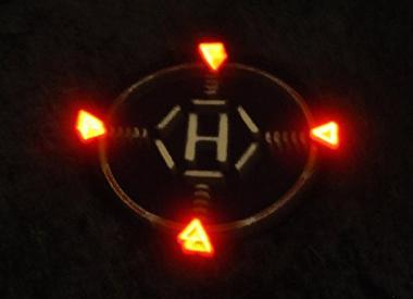 LED着陸ライト