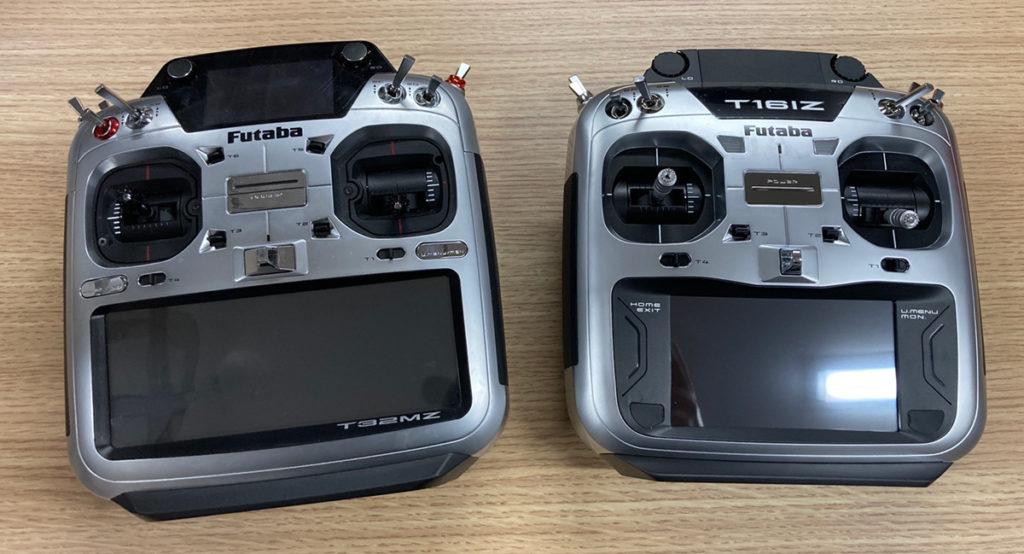 FutabaT16ISとT32MZ